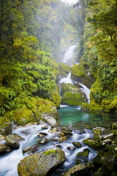 Waterfall New Zealand