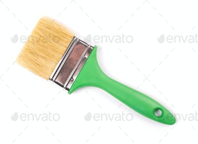 Paintbrush with shadow