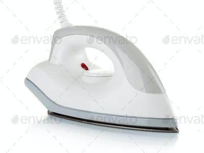 Modern electric iron with wire