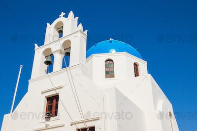 Beautiful greek church
