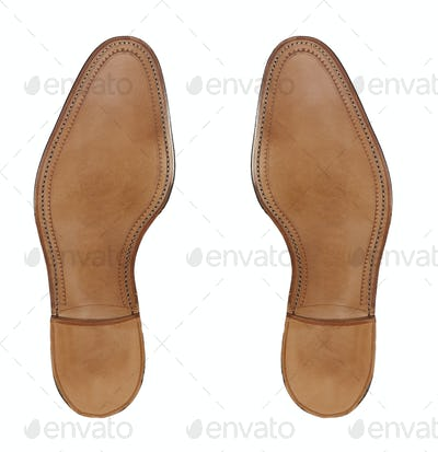 Rubber sole of a men's shoes