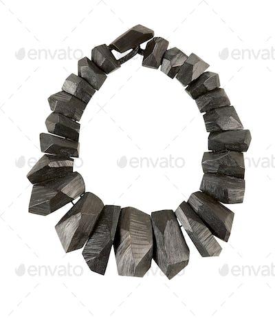 Slate stone necklace