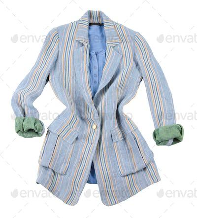 Oversized jacket fashion look