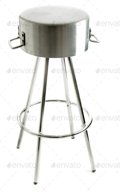 Saucepan metal stool