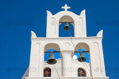 Traditional belltower of a church
