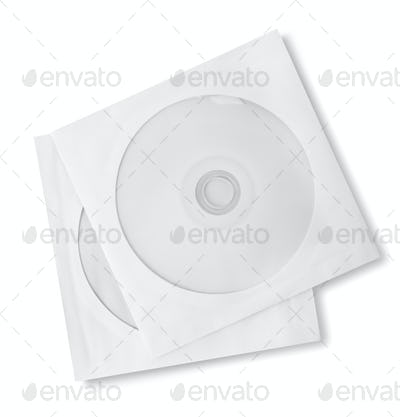 CD and paper case