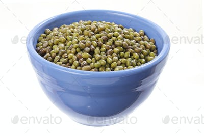 Mung Beans in Bowl