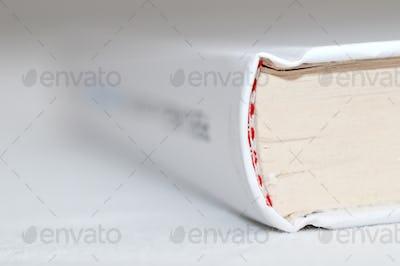 White Book Binding