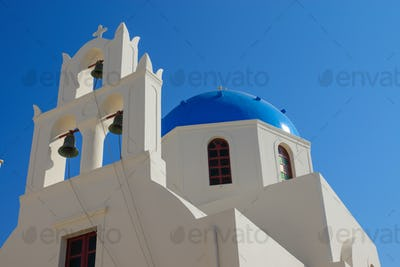 Beautiful church in Oia