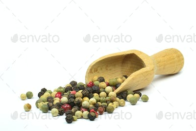 Peppercorns and Scoop