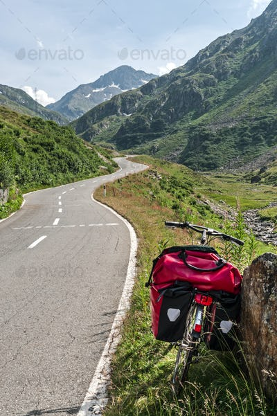 Gran San Bernardo (Switzerland) - Bicycle