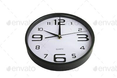 Clock showing ten o'clock