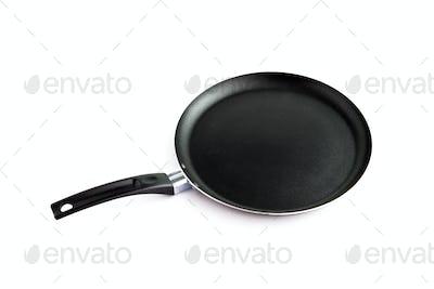 Clean frying pan