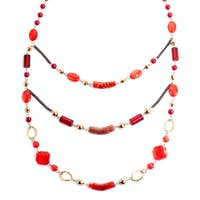 Red gem necklace