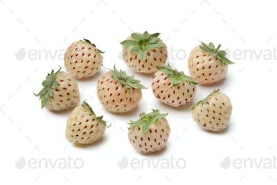 Fresh pineberries