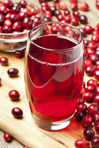 Fresh Organic Cranberry Juice