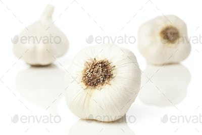Fresh Organic Garlic Cloves
