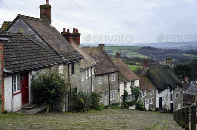 Gold Hill in Shaftesbury, Dorset