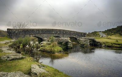 A Stone Bridge in Dartmoor