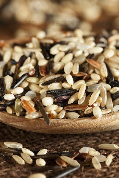 Organic Dry Multi Grain Rice