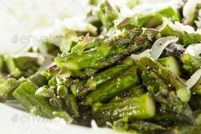 Healthy Sauteed Chopped Asparagus
