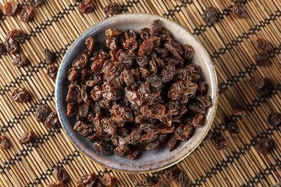 Organic Dried Raw Raisins