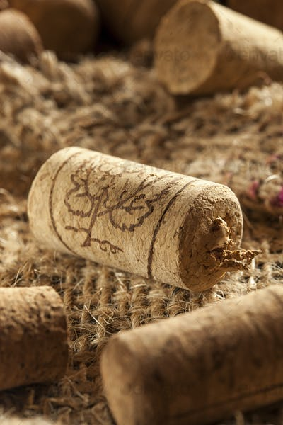 Rustic Brown Wine Corks