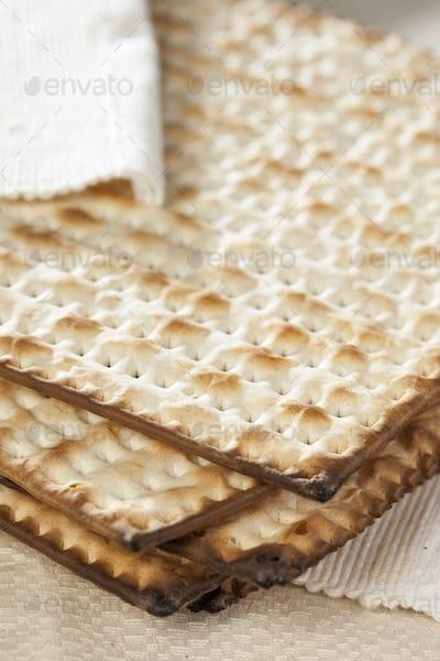 Homemade Kosher Matzo Crackers