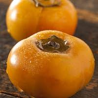 Organic Orange Persimmon Fruit
