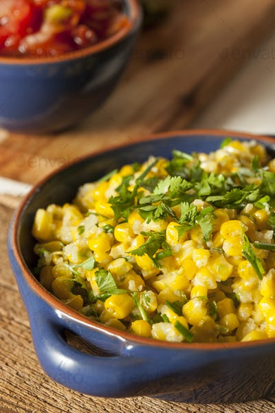 Homemade Organic Mexican Corn Dish