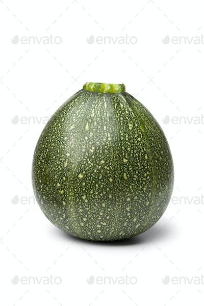 Green round zucchini