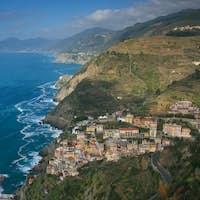 View over Riomaggiore