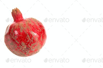 One pomegranate.