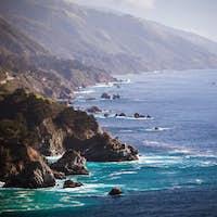 Big Sur View Along The Pacific Coastline