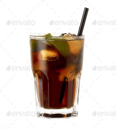 Cuba Libre Rum Cocktail