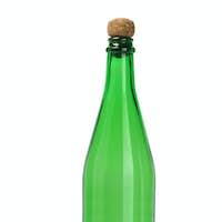 Green Empty Glass Bottle