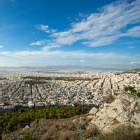 View over Athens