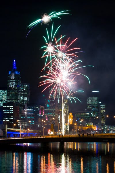 Crown Casino Fireworks