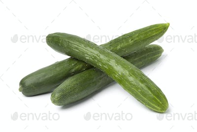 Fresh japanese cucumbers