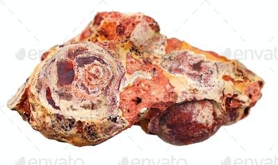 loose rock sedimentary stone