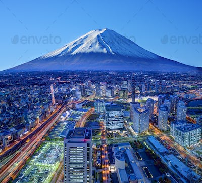 Fuji And Yokohama