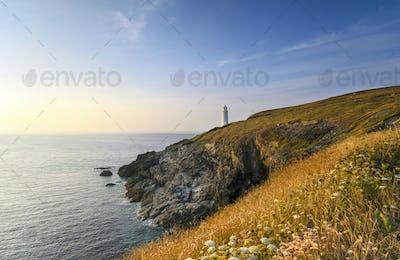Trevose Head Lighthouse in Cornwall