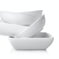 Empty bowls isolated
