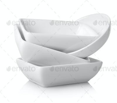 White gravy boats