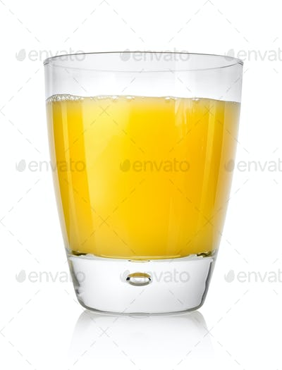 Juicy orange juice