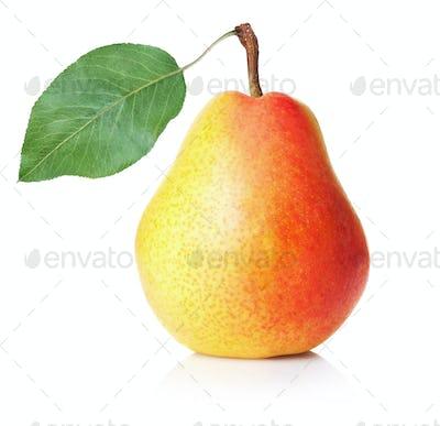 Ripe yellow pear