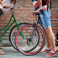 Love among bicycles