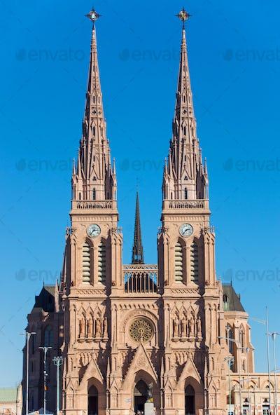 The basilica of Lujan