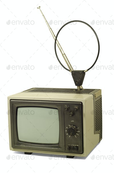 Old dirty TV