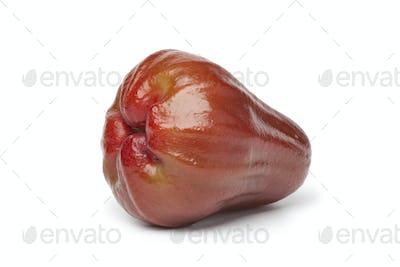 Whole single fresh bell apple
